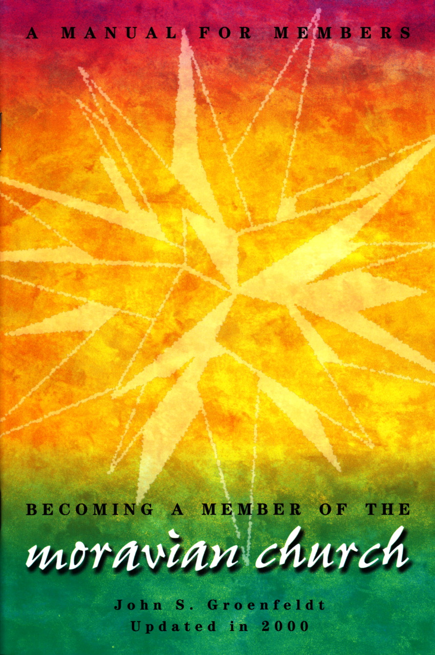 Becoming a Member of the Moravian Church