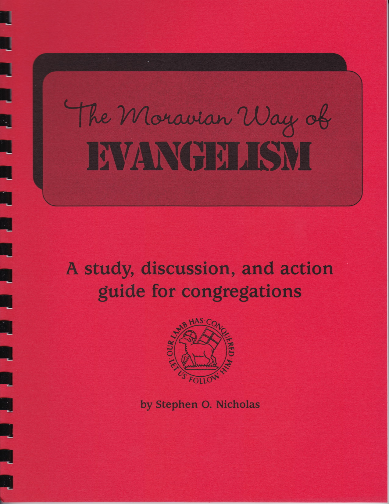 Moravian Way of Evangelism