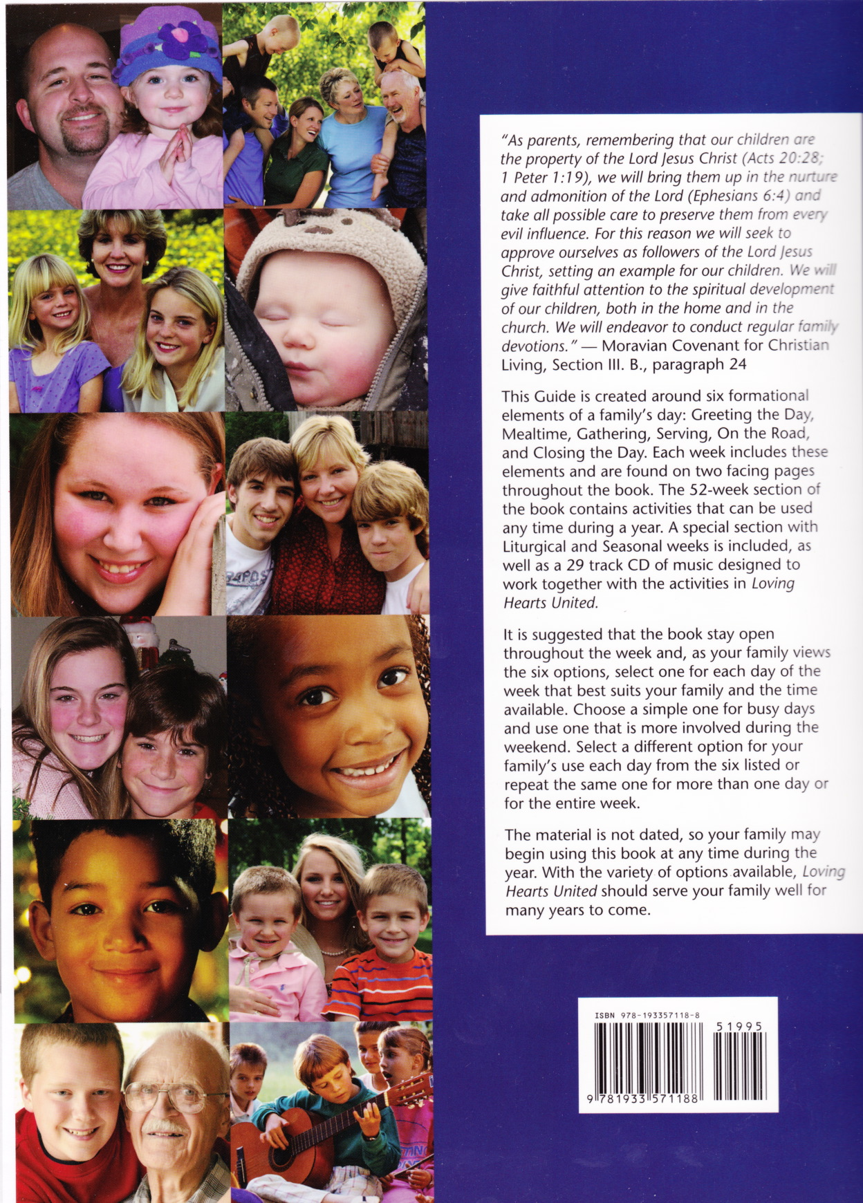 Loving Hearts United – A Moravian Guide for Family Living