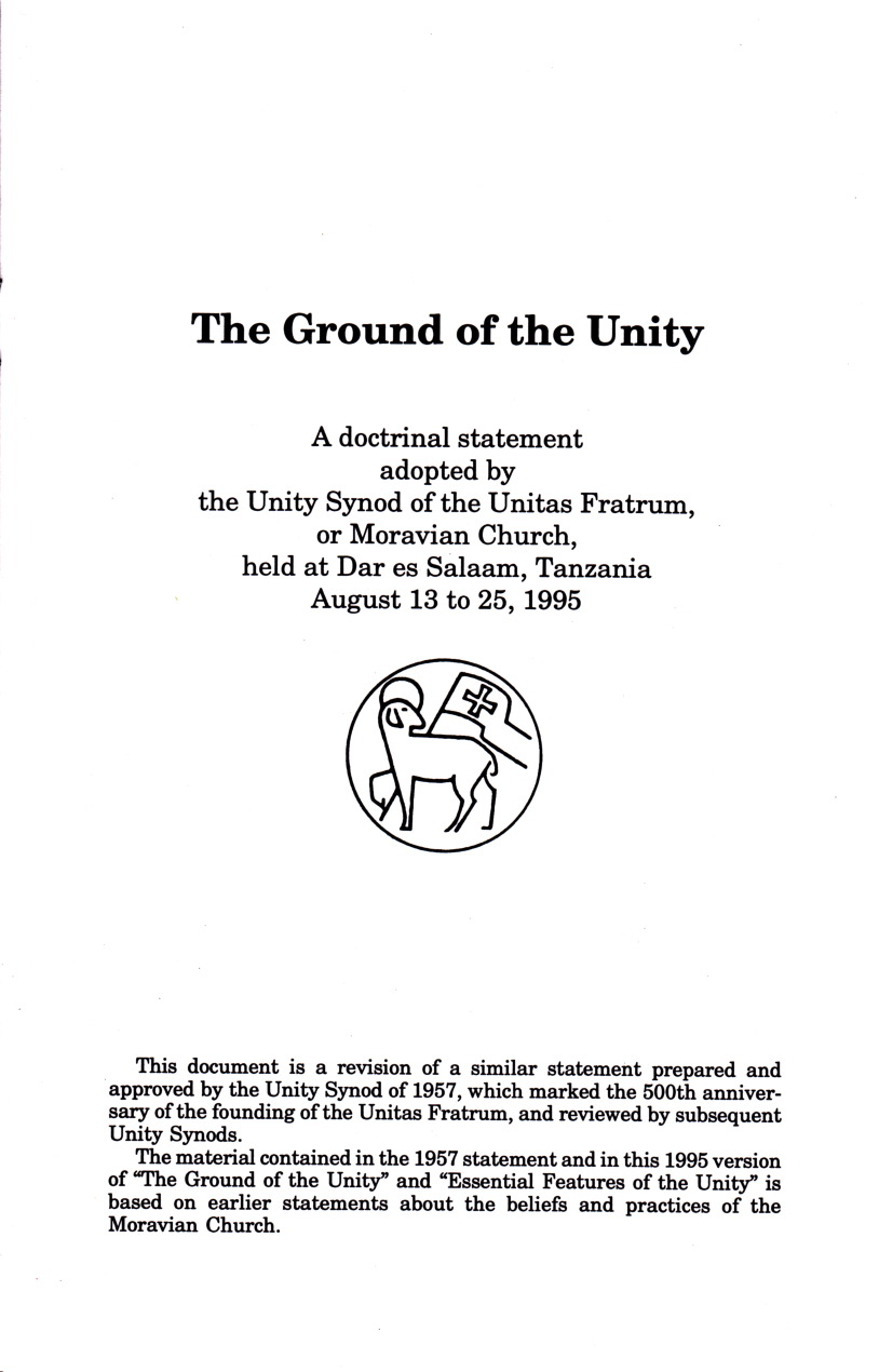 Ground of the Unity