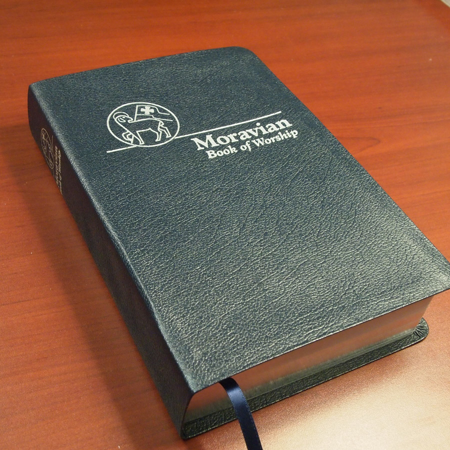 Moravian Book of Worship, Leather Edition