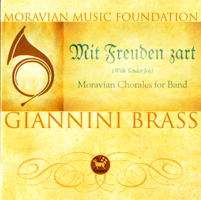 Mit Freuden zart (With Tender Joy) - Moravian Chorales for Band