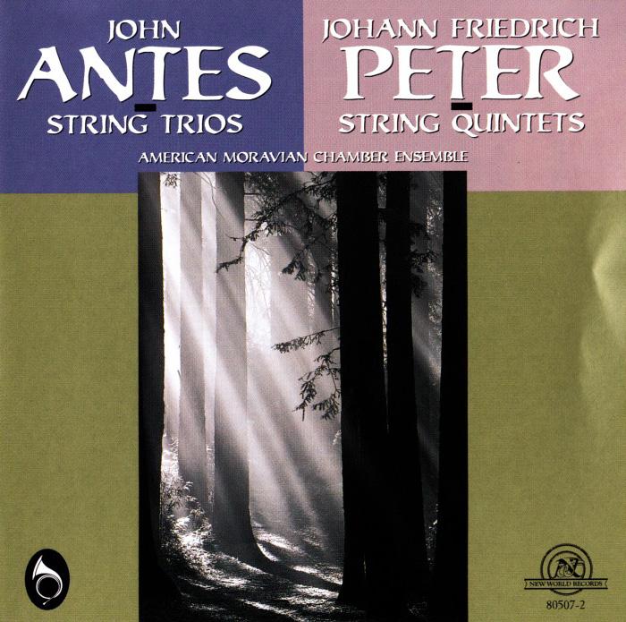 String Trios of John Antes/String Quintets of Johann Friedrich Peter, Double CD