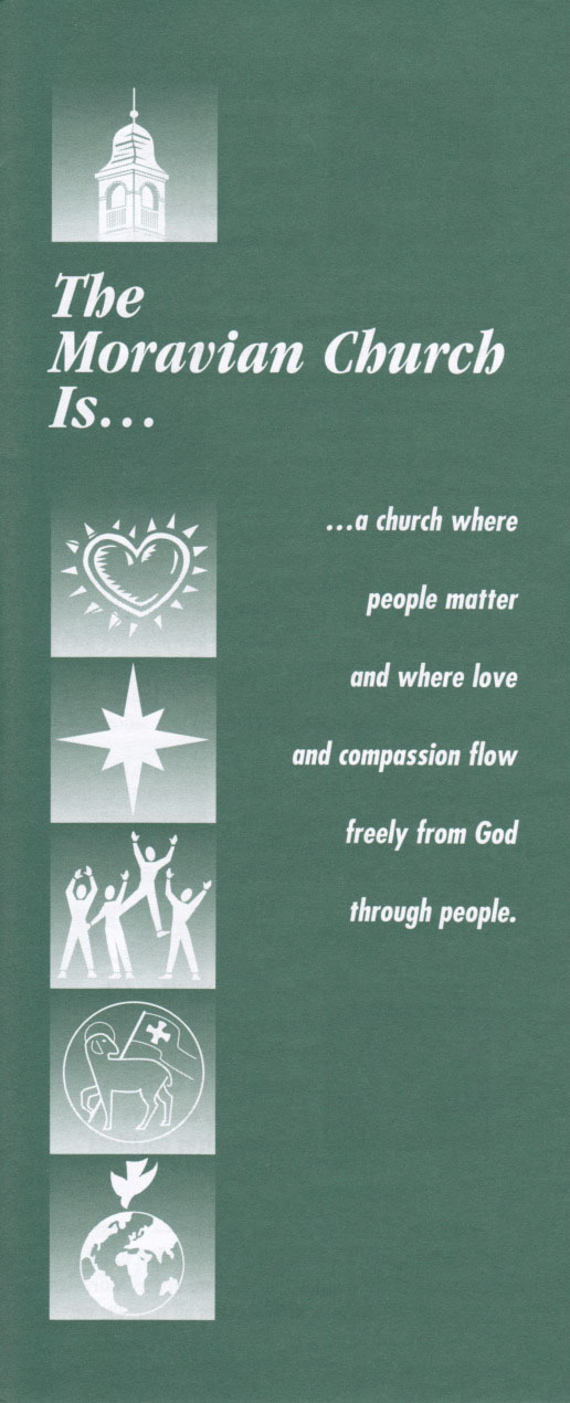The Moravian Church Is... Brochure