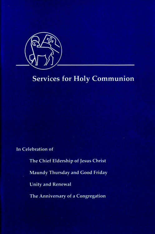 Services for Holy Communion