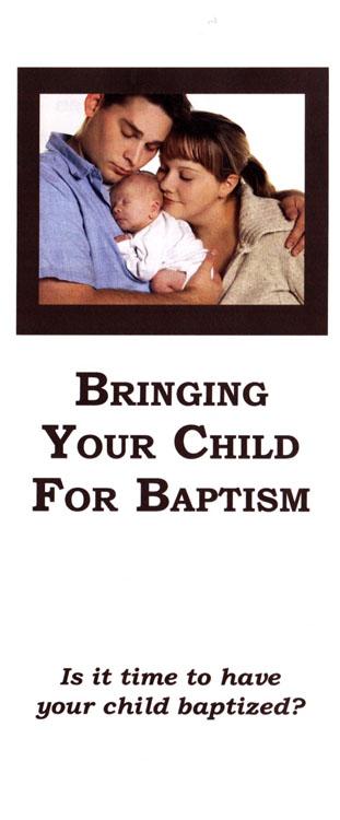 Brochure: Bringing Your Child for Baptism