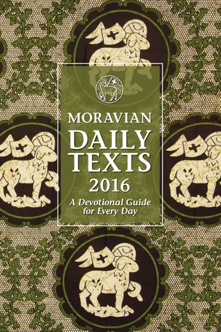 2016 Moravian Daily Texts - Hardcover Edition