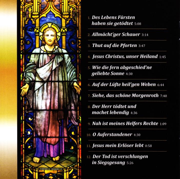 Osterkantate/Easter Cantata CD
