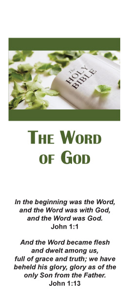 Brochure: Word of God