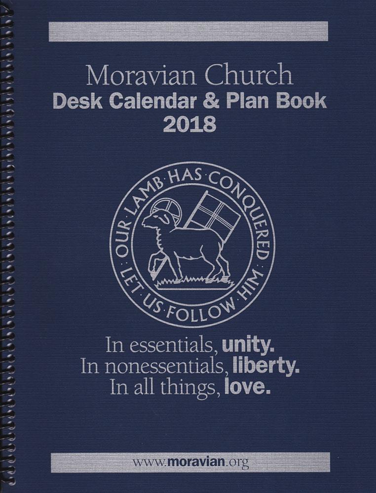 2018 plan calendar