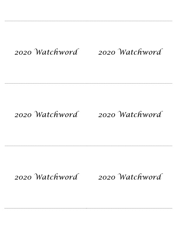 Microsoft Word – 2020 Watchwords download.doc